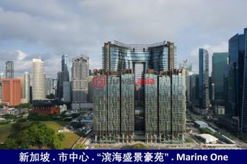 居外网在售新加坡1卧1卫新房的房产总占地700平方米SGD 1,700,000