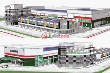 居外网在售马来西亚MYR 55,000,000总占地9263平方米的商业地产