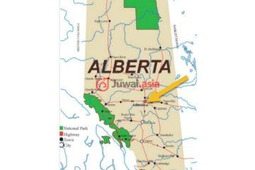 居外网在售加拿大ArdrossanCAD 16,225,000总占地1193823平方米的土地