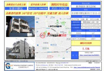 居外网在售日本14卧14卫的房产总占地141平方米JPY 160,000,000