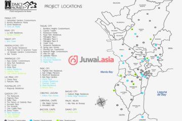 居外网在售菲律宾1卧1卫新开发的房产总占地28平方米PHP 2,400,000