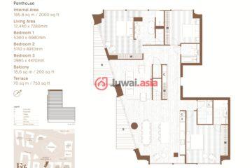 英国英格兰伦敦的房产,Nine Elms Lane,编号27839957