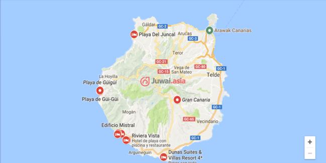 西班牙拉斯帕尔马斯的乡郊地产,10 GC-204,编号37059719