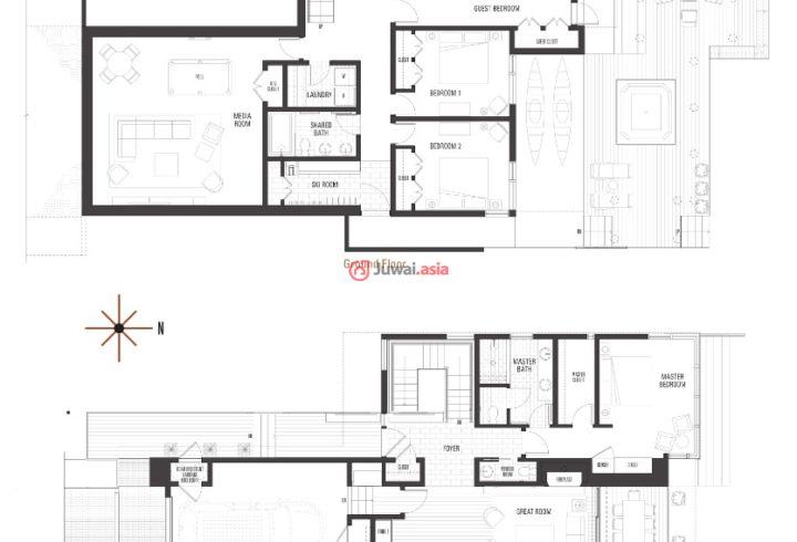 美国加州特拉基的新建房产,14205, Mountainside Place,编号32030256