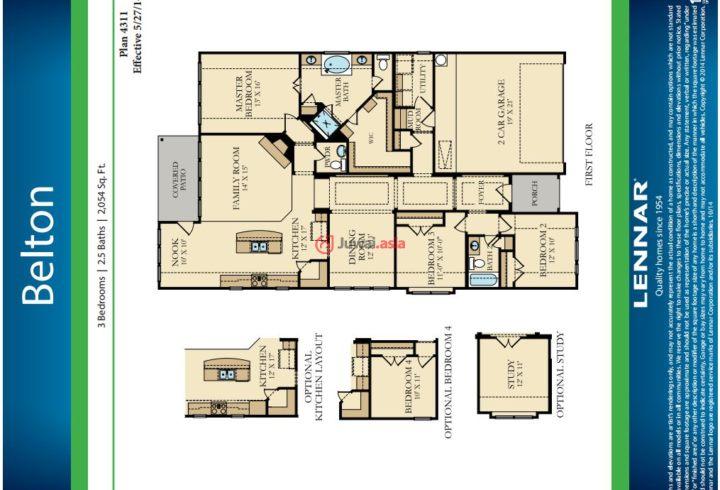 农村6间一层平房设计图  农村一层平房设计图_房屋设计图_无忧图纸库