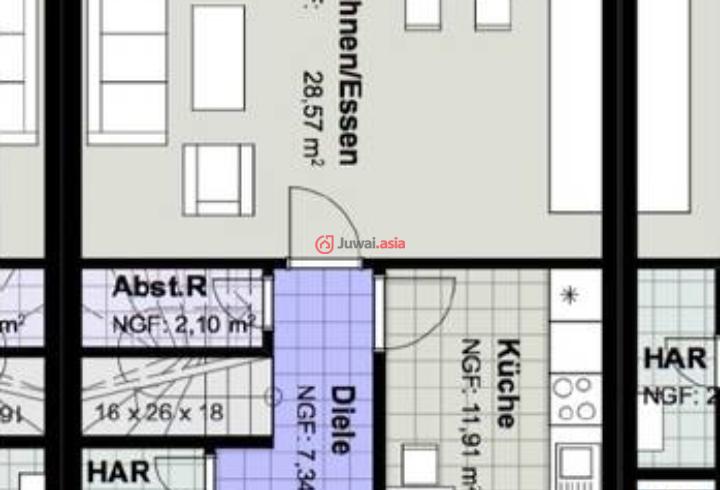五排三间房屋设计图