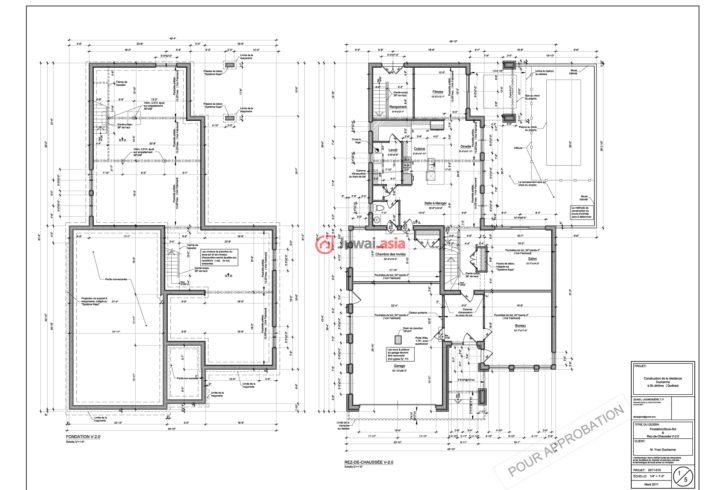 乡村民房设计平面图