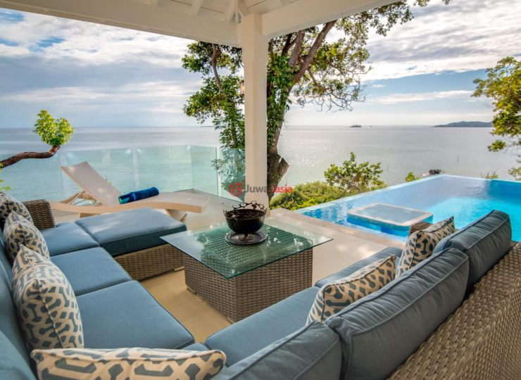 洪都拉斯海湾群岛瓜納哈島的房产,Beach-Front Villa Evelyn La Giralda,编号36326902