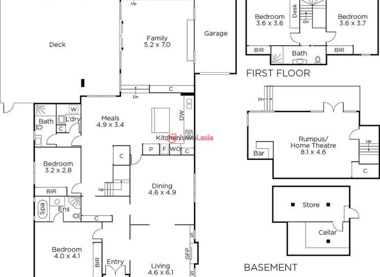 这栋住宅位于优美的Golf Links Estate小区中,这个地段也是Camberwell最优美的街区之一,绿树成荫,周边有多栋百万美元级别的豪宅。这栋砖体结构建筑始建于约1931年,超宽敞室内空间,已进行全面翻新,共有5间卧室,适合成员较多的大家庭。一层有两个卧室,全部配有套内卫生间。还有一个书房、旁边是一个超大正式起居室,配有开放式壁炉。新装修的厨房中有用餐区。走过家庭房的对开大门,即进入宽敞的娱乐露台,独立游戏室(可作为家庭影院),4个卫生间以及上锁车库和酒窖。土地面积大约为715平方米,已进行景